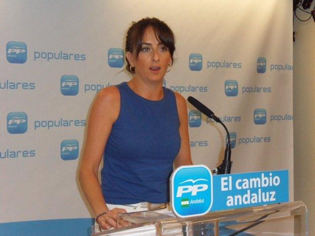 La parlamentaria andaluza del PP Aránzazu Martín