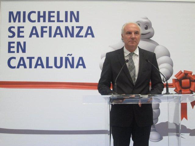 Director del centro Michelin en Barcelona, Antoni Marín