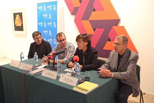 Aramis López, Fermín Alonso, Eloísa Ramírez y José María Yturralde.