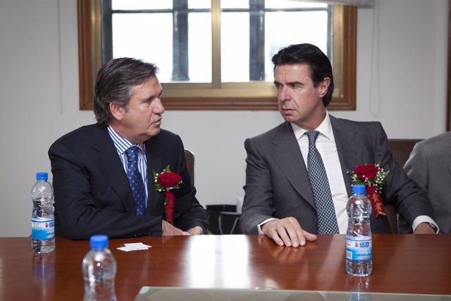 Bernabé Unda Y José Manuel Soria.
