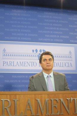 Carlos Rojas, hoy en el Parlamento