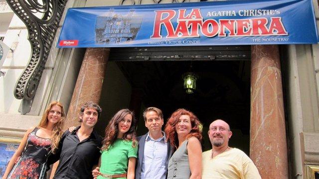 Reparto De 'La Ratonera'