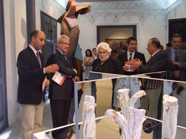 La Casa Pintada de Mula renueva su colección permanente de Cristóbal Gabarrón