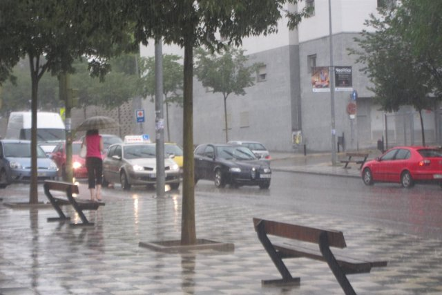 Lluvia, Mal Tiempo, Tormenta, Temporal En Cuenca