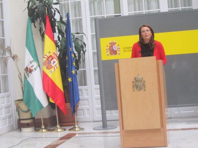 Rueda de prensa de Carmen Crespo