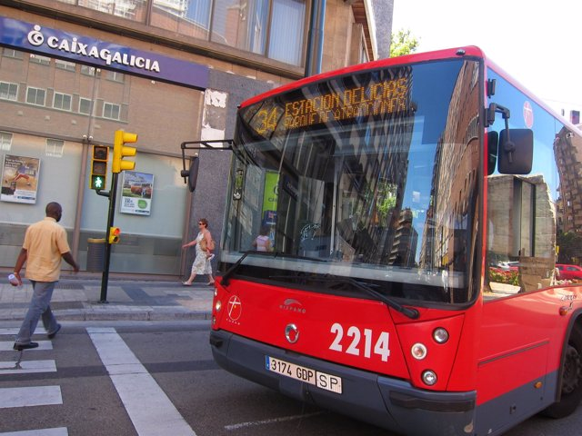 Autobús Urbano De Zaragoza