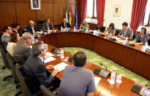 Imagen de la Junta de Portavoces