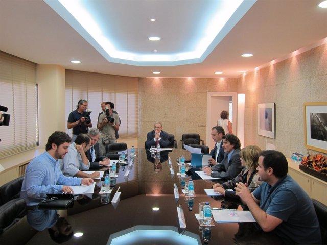 Reunión en la CRTVG sobre debates electorales