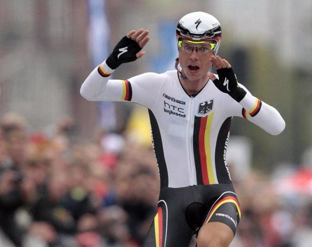 El Ciclista Alemán Tony Martin