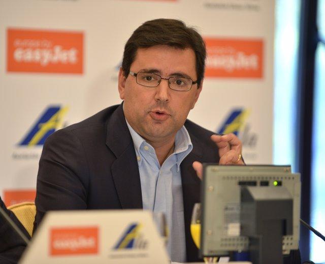 Javier Gándara, director general de easyJet en España y Portugal