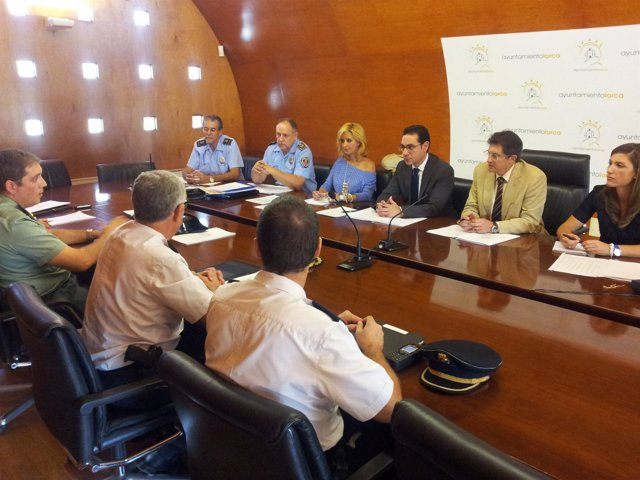 Reunión dispositivo especial de seguridad y emergencias