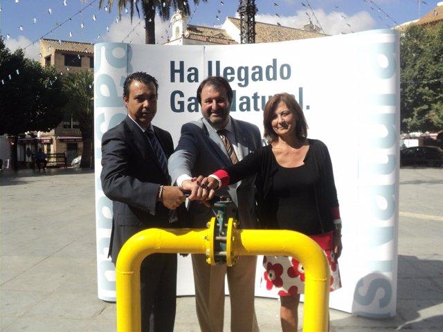 Inauguración Del Servicio De Gas Natural En Carmona.