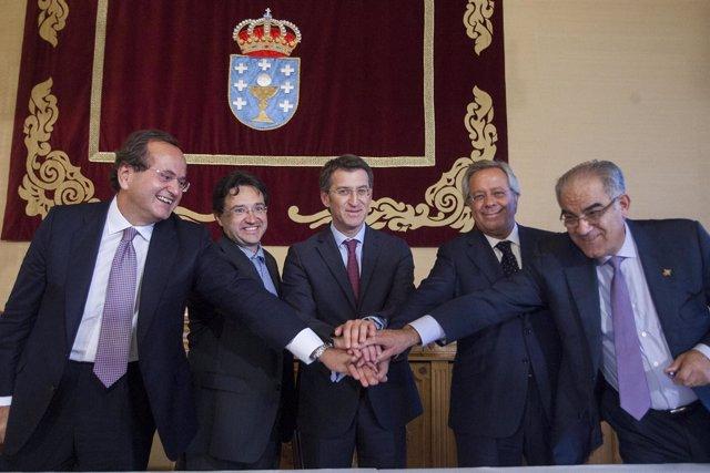 O presidente da Xunta, Alberto Núñez Feijóo, asistirá á sinatura dos contratos q