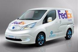 Nissan NV 200 eléctrica para FedEx