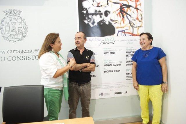 Presentación XXXII Cartagena Jazz Festival Cartagena