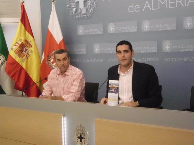 El concejal de Turismo de Almería, Juan José Alonso (PP)