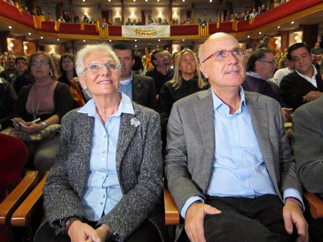 Josep Antoni Duran Con Conxita Tarruella