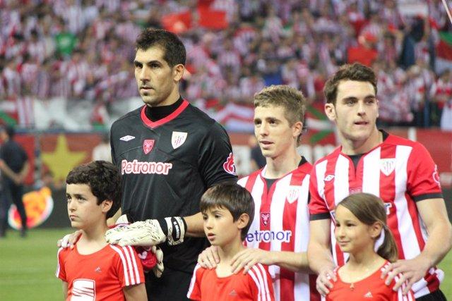 Gorka Iraizoz Muniain Ibai Gomez Athletic Club Bilbao