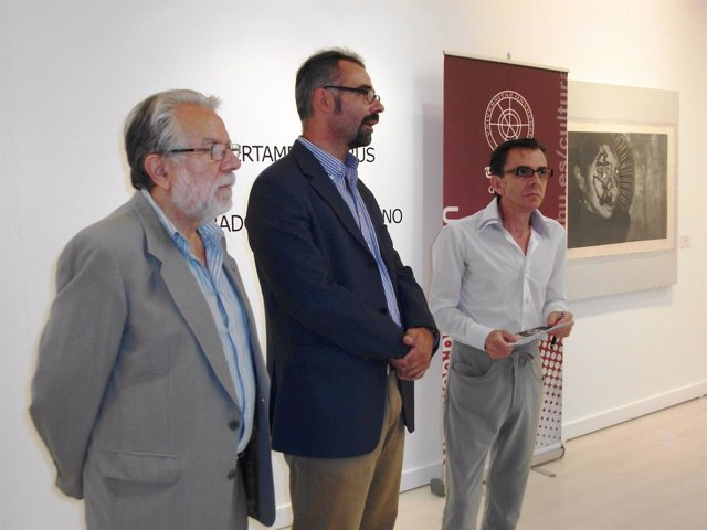 Muestra De Las Obras Finalistas Del V Certamen De Grabado Iberoamericano Ladrús.