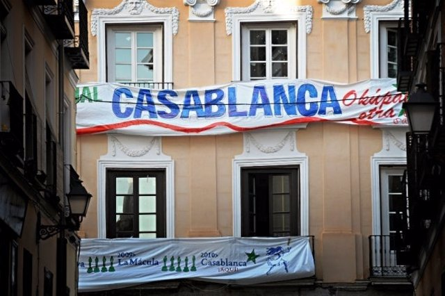 Casa okupada Casablanca