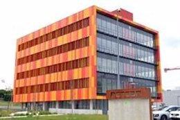 Edificio del PCTCAN que alberga el Centro de Atención al Cliente del Santander