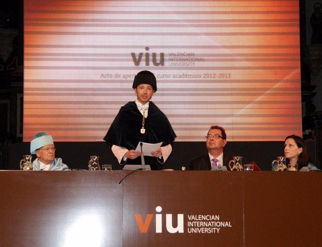 Inauguración Curso Académico De La VIU 2012-2013