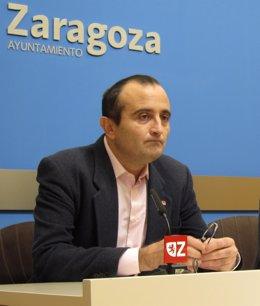 Raúl Ariza, Concejal De IU En El Ayuntamiento De Zaragoza