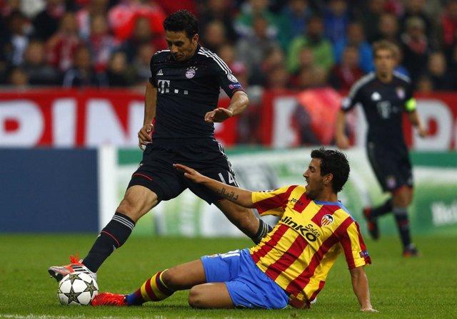El Valencia no puede con el Bayern
