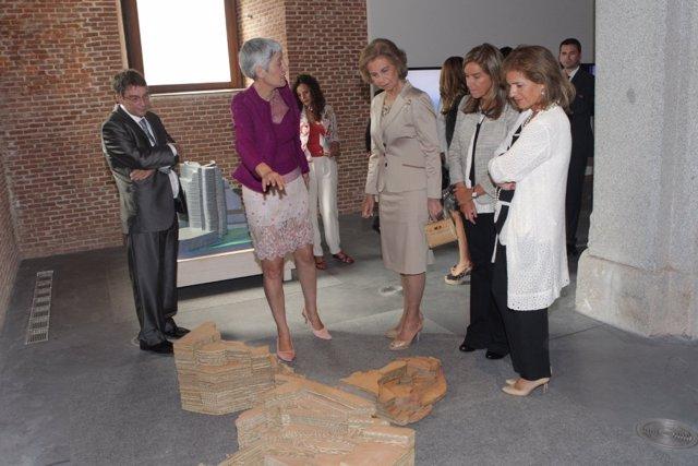 Inauguración De La VI Bienal De Arte Contemporáneo Fundación ONCE