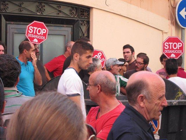 Paralización de un desahucio en Almería