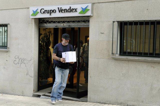 Registro en la sede de Vendex en Ourense