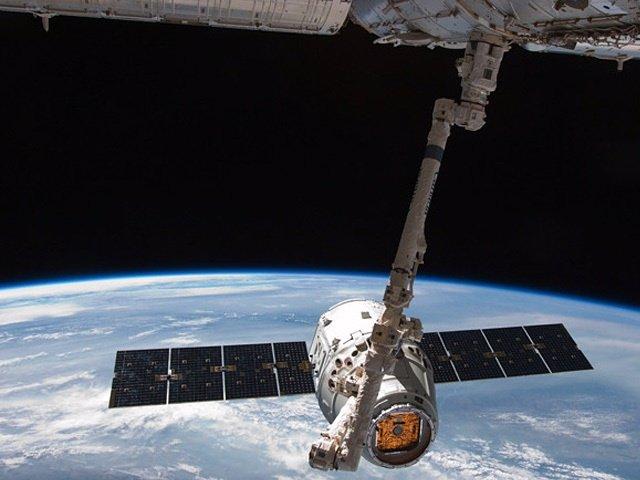 Dragon en la ISS