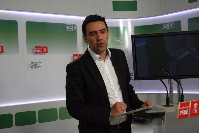 El vicesecretario general del PSOE-A Mario Jiménez