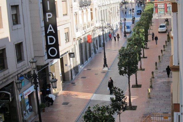 Calle Peatonal De Oviedo