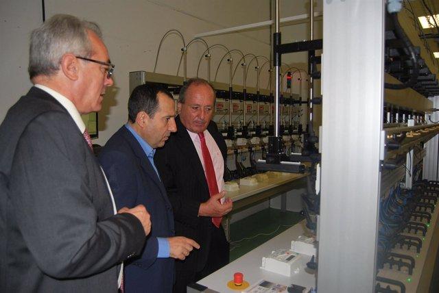Ruiz Espejo en su visita a Sogecam