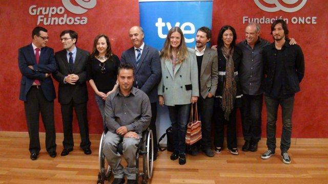 Presentación de la serie documental 'Capacitados' de la ONCE y TVE