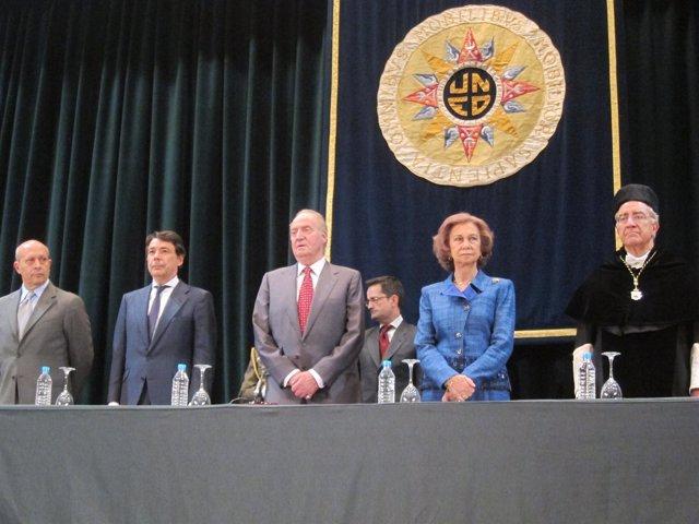 El Rey en la inauguración del curso universitario de la UNED