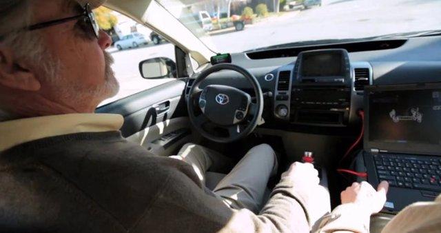 Vídeo del sistema de conducción automática