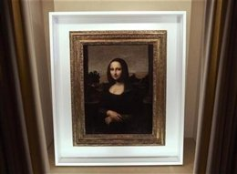 Una Mona Lisa más joven más joven se presenta hoy en Ginebra
