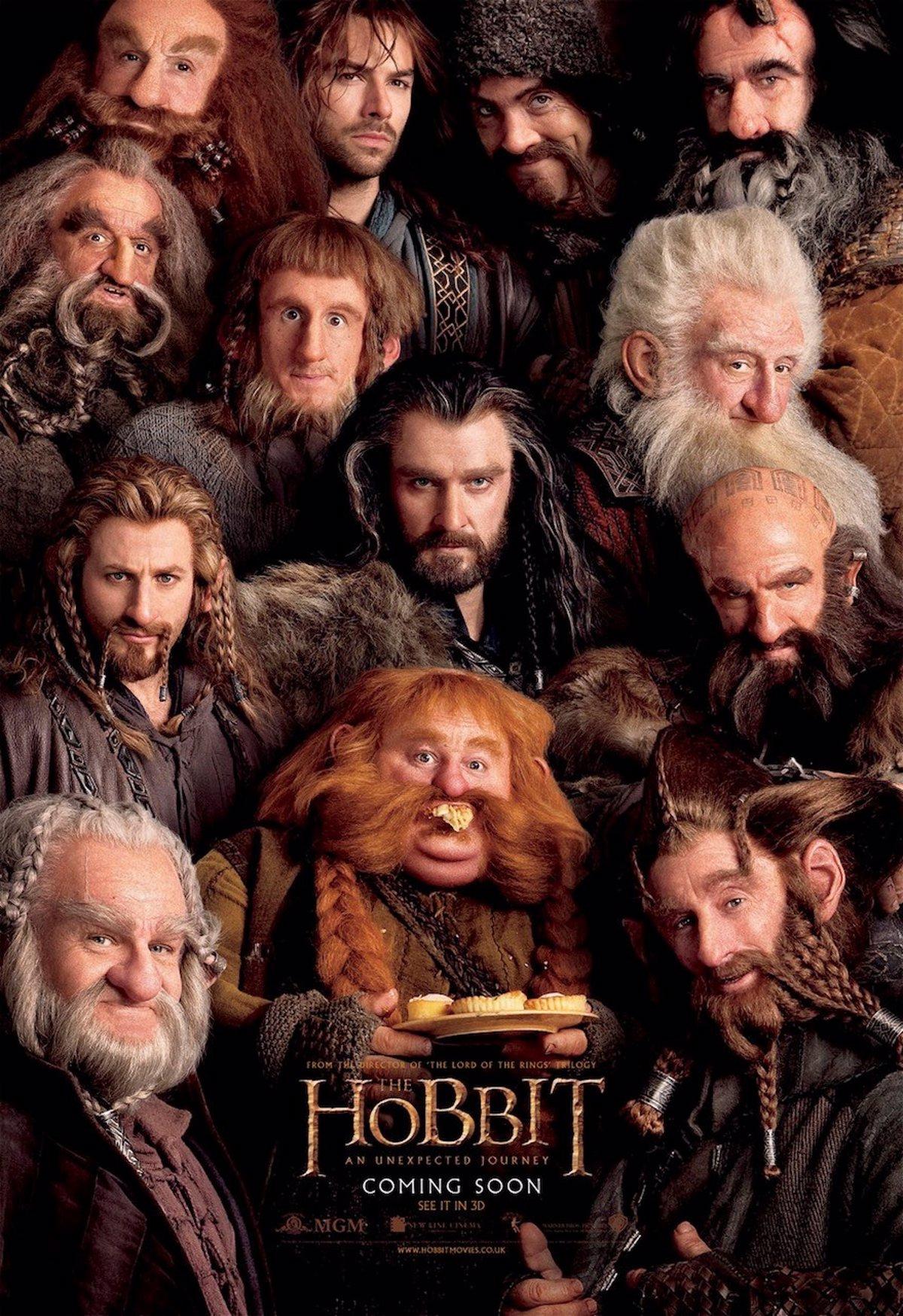 La Tropa De Enanos Al Completo En El Nuevo Cartel De El Hobbit Un Viaje Inesperado
