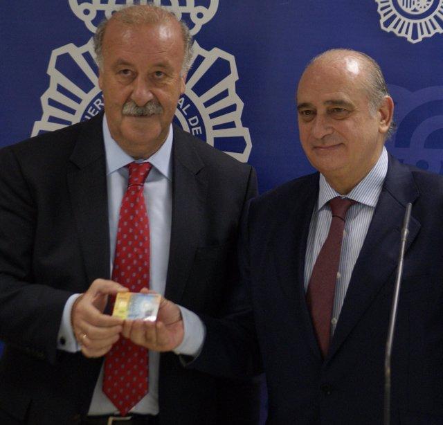 Vicente Del Bosque Y Jorge Fernandez Díaz