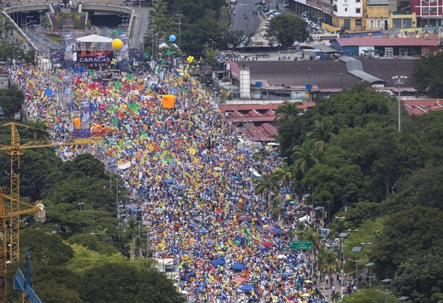 Mitin de Capriles