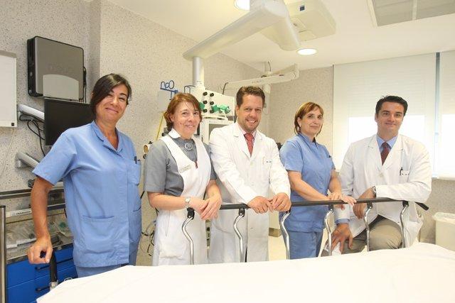 La CUN participa en un ensayo sobre el tratamiento del enfisema severo.