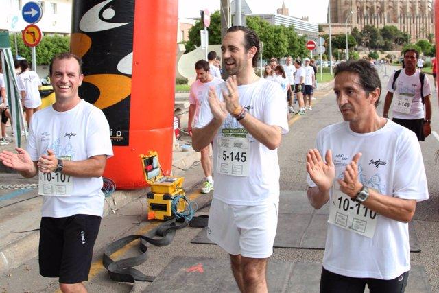 Bauzá En La Maratón De La Fibrosis Quística