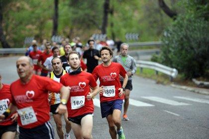 Unas 2.500 personas participan en las tres pruebas de la Carrera del Corazón