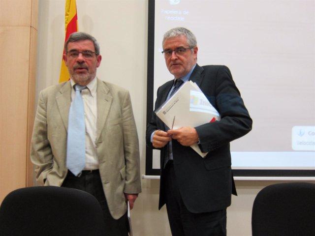Presentación De La Campaña De La Gripe En Catalunya