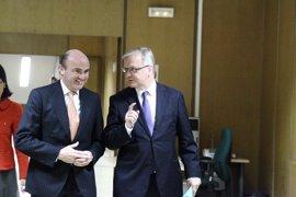 De Guindos: las cuentas de 2013 son las que necesita España en estos momentos