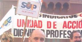 """El SUP dice que, con las cargas policiales, el Gobierno pretende """"salir del centro de atención y colocar a la Policía"""""""