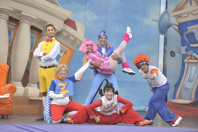 Live Show Lazy Town