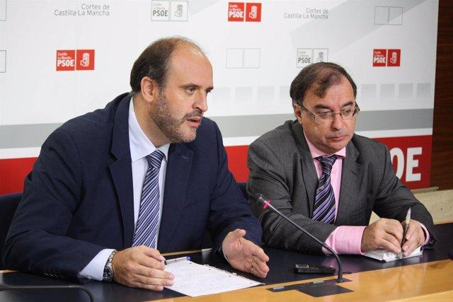 Martínez Guijarro y Mora en rueda de prensa